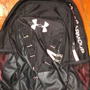 Used under armor back pack !